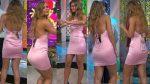 Natalia Valenzuela Culote En Minivestido Rosa + Upskirt !! HD