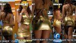 La Reata En Minifalda Dorada! HD