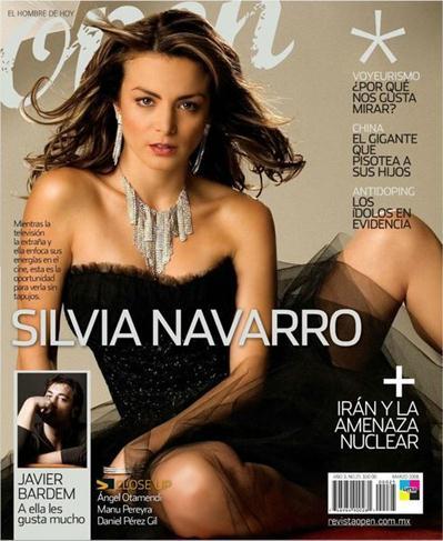 Silvia+Navarro+Super+Cachonda+En+Revista+OPEN+Voyeurmix.net