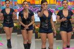 Tabata Jalil Ricas Piernotas En Minishorts HD