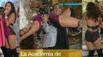Tania Rincón Riquisima Bailando En Body Rosa HD