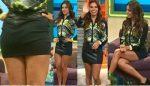 Tania Rincón Minifalda + Vuelta Piernotas!! HD