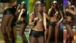 Vanessa Claudio Rica Bailando En Microshorts! HD