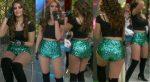 Vanessa Claudio Piernotas En Cacheteros Verdes! HD
