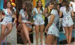 Vanessa Claudio Lindas Piernotas Baile y Mas. HD
