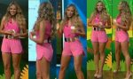 Vanessa Huppenkothen Piernotas En Minishorts Rosas! HD
