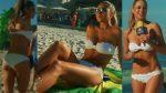 Vanessa Huppenkothen Riquisima En Bikini Blanco! HD
