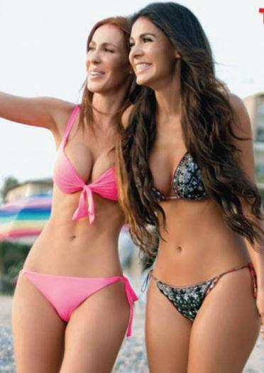 Vanessa+Arias+y+Ana+Bekoa+En+Bikini+Portafolios+Tvnotas+Diciembre+2015