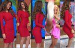 Yanet García Culazo Bailando En Sexy Vestido + Roxana Castellanos Upskirt! HD