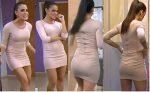 Adianez Hernandez Rico Culito En Vestido Entallado HD