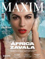 África Zavala Sexy En Revista – Maxim México – Octubre 2018