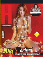 Aline Sartori En Revista H Mexico Diciembre 2018 + Extras