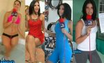 Anette Asbun En Minivestido Rojo + Lycras Bikini HD