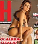 Claudia Lizaldi Culona En Revista H Para Hombres!