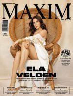Ela Velden En Maxim Mexico – Diciembre 2018  Enero 2019 + Extras