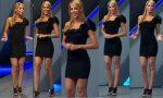 Ines Sainz Sexy En Minivestido Negro Ajustado! HD