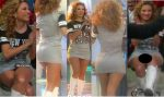 Ingrid Coronado Rica Milf En Microvestido Upskirt!! HD