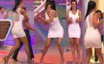 katelen Covolo Hot En Vestido Blanco HD