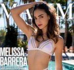 Melissa Barrera Sexy En Maxim México + Extras