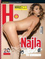 Najla Montibeller En Revista H Mexico – Enero 2019 + Extras