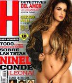 Ninel Conde Desnuda En Revista H Para Hombres Mexico!
