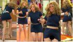 Raquel Bigorra Brincando En Minifalda Upskirt!! HD