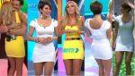 Regina Murguia Rica En Minivestido Blanco + Shanik Aspe HD