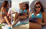 Sandra Destenave En Bikini y Vestido Transparente HD