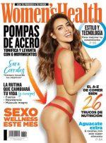 Sara Corrales – Revista Women's Health México – Abril 2019