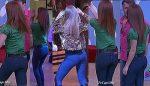 Tania Riquenes Tremendo Culazo En Pantalon Entallado HD