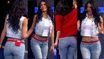 Vanessa Arias Culote En Pantalon Entallado! HD