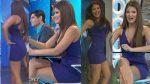 Vanessa Claudio Minivestido Morado Piernotas!! HD