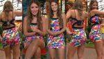Vanessa Claudio Nalgona En Minivestido Multicolor! HD