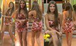 Vanessa Claudio Sexy Microvestido Floreado! HD